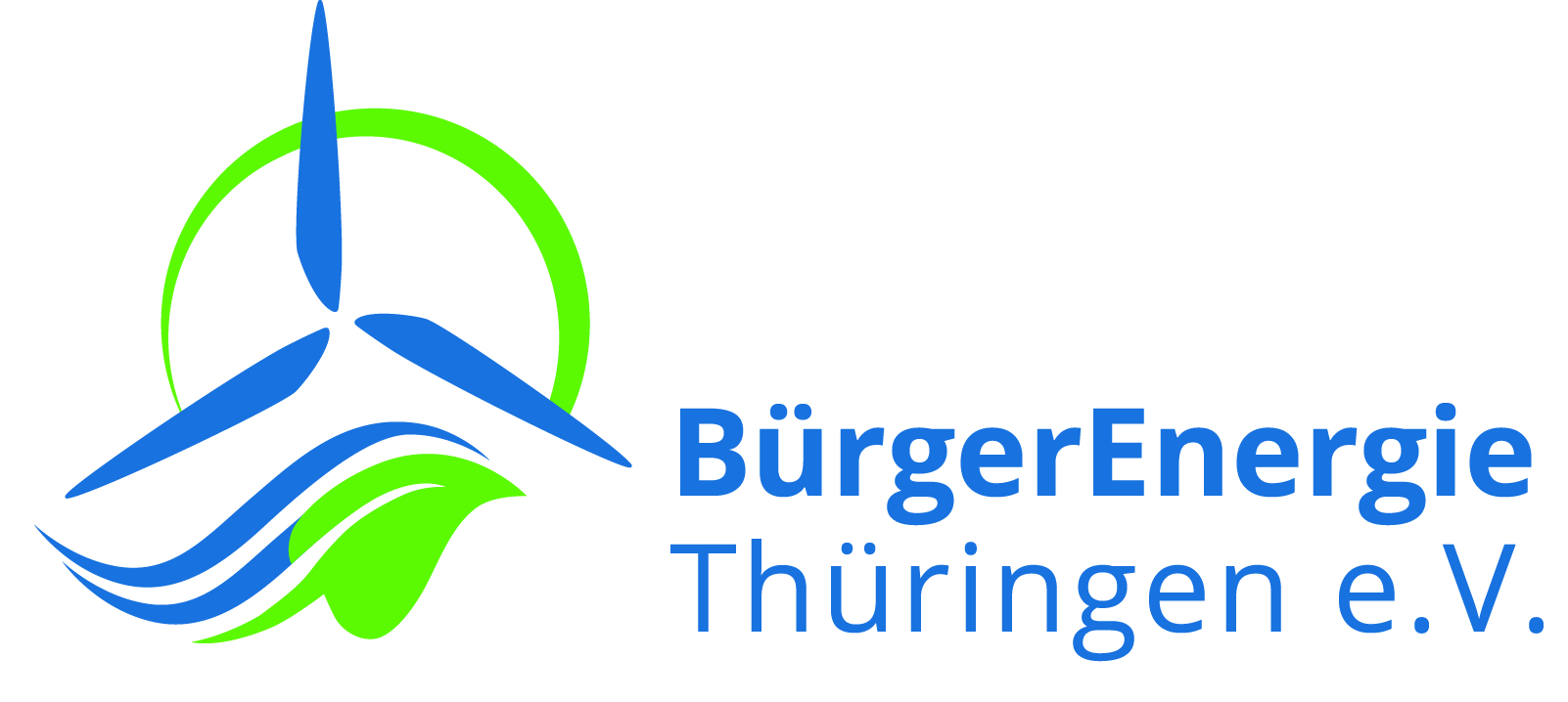 Logo BuergerEnergie TheV Standard cmyk